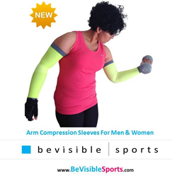 Arm compression sleeves image