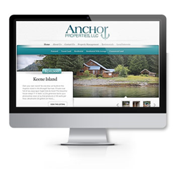 image of the Anchor Properties, LLC website