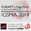 EnableM's Magic Pencil is the Winner at the Global Mobile Awards...