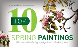 Top Ten Oil Paintings for Spring 2014