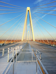 Stan Musial Veterans Memorial Bridge in St. Louis, MO