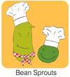 Bean Sprouts:  Cooking Fun for Kids app logo