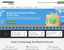 InmotionHosting - 2014 Best Business Hosting
