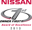 Preston Nissan Recognized with the Owner First Award of Excellence for 2013