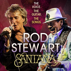 Rod Stewart & Santana 2014 Summer Tour Tickets & Schedule