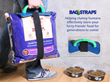 Bag-Straps™ Keep Large Bags Sealed, Allow Easy Transport for Pet...