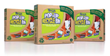 Flings®  Pop-Up Recycle Trash Bin Cartons