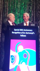 Dr. Franklyn Elliott and Dr. Carl Hartrampf