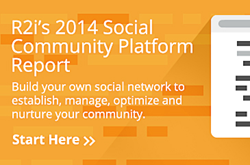 r2i Social Community Comparison Report