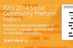 r2i Social Community Comparison Report