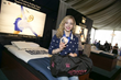 Gracie Gold attends airweave and GBK's Luxurious Gift Lounge Honoring the Nominees and Presenters of the 2014 Academy Awards