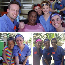 Dr. Harris and Team doing dentistry in the Dominican Republic for Smiles for Life.