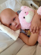 Hazel is battling cancer with the help of the Talbert Family Foundation.
