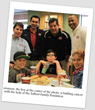 Grayson, the boy at the center of the photo, is battling cancer with the help of the Talbert Family Foundation.