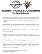Talbert Family Foundation