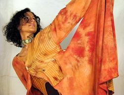 Shibori Dyed Coat