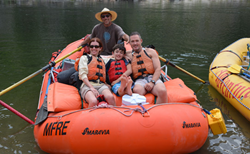 family whitewater rafting vacation