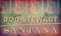 Rod Stewart & Santana 2014 Tour
