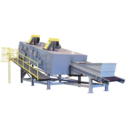 Inclined Continuous Conveyor Oven for Magnesium Recycling