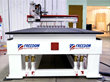 Freedom Machine Tool 5x10 Patriot CNC Router Closeup