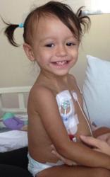 Sofia Flores AML patient