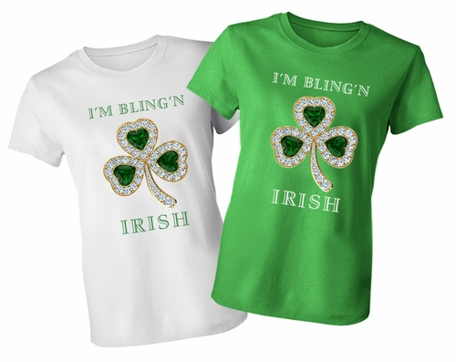 7563c5ba3 The Best St. Patrick's Day T-Shirt. The Newest Design To Be Released From  Ziamond's Jewelry And Gems Themed Apparel Collection