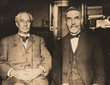 Engineers A. B. Nichols and John C. Trautwine, Jr. in Philadelphia, 1905.