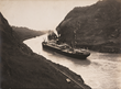 The S.S. Cristobal on the return trip through the Panama Canal, August 4, 1914.