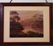Historic Maria Sanchez Creek of St. Augustine by Martin Johnson Heade. This is the only known image of Maria Sanchez that Heade painted. He would have seen this view daily south of his work place.
