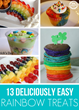 Easy Rainbow Treats Have Been Published On Kids Activities Blog
