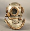 Lot 500 - Rare, Morse diving helmet that was purchased in 1928 by the Philadelphia Police Department for their dive unit. Estimate:  5000, 10,000
