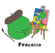 Visit Peacasso at www.beansprouts.com