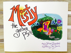 Misty the Garden Pixie book by Wish Farms