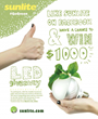 GoGreen with Sunlite LED Lighting Sweepstakes