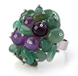 New Design Gemstone Ring Now Available on Aypearl.com