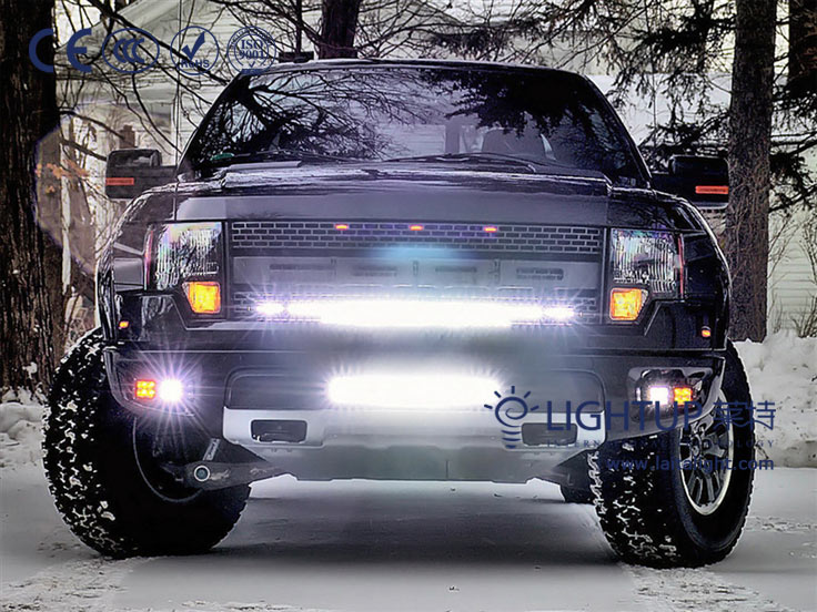 Auto led light bar collection with cree led chips from lightup led aloadofball Images