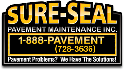Sure Seal Pavement