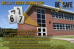 BeSafe Door Numbering