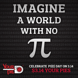 Celebrate Pi(e) Day On 3.14.14