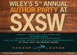 Wiley Announces This Year's Authors Presenting at SXSW 2014