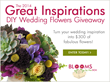 BloomsByTheBox.com Launches Innovative DIY Wedding Flower Planning...
