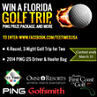 New Prizes Announced for Florida Golf Give-Away Promotion Extended...