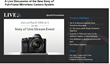 A Live Webcast of the New Sony a7 Full-Frame Mirrorless Camera System...