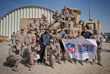 Brandon Fields, Pierre Garçon and Jimmy Graham Wrap Up Winter 2014 with Moment-Filled USO/NFL Tour to the Middle East