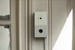 """Chui """"Intelligent Doorbell"""" installed at front door"""