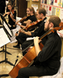 Dixie State University string quartet