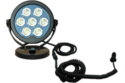 Heavy Duty 70 Watt LED Light Emitter Constructed of an Aluminum Housing