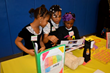 A team of Henry Ford Academy: Elementary School Design Thinkers presented a prototype that might help a forgetful little girl remember to put away her toys.