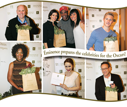 Eminence Organic Skin Care at the Oscars 2014.