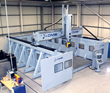 DMS Large Format 5 Axis Overhead Gantry Side Wall CNC Machine Center
